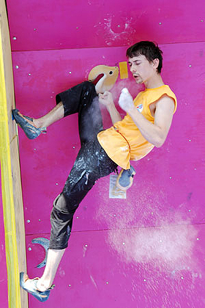 Другий Міжнародний турнір зі спортивного скелелазіння «Українські вертикалі». Фото: Володимир Бородін/Велика Епоха