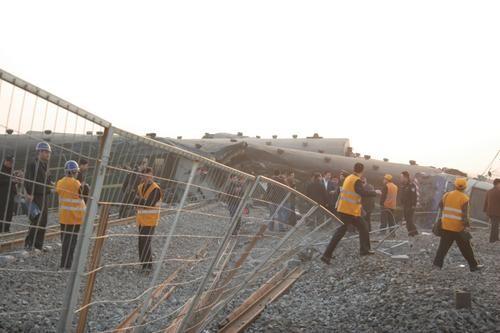Железнодорожная катастрофа в Китае стала плохим предзнаменованием для Олимпиады. Фото с epochtimes.com