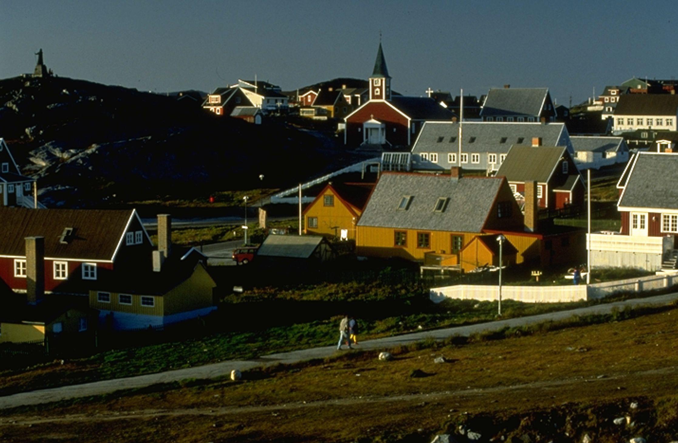 Північний шлях: Піший туризм по крижаному панциру біля Кангерлуссуак. Фото: reenland Tourism /Signe Vest