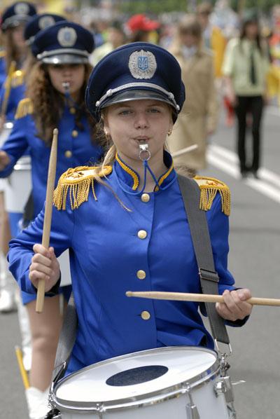 Карнавал дитячих творчих колективів пройшов по Хрещатику в суботу 6 червня. Фото: Володимир Бородін/The Epoch Times
