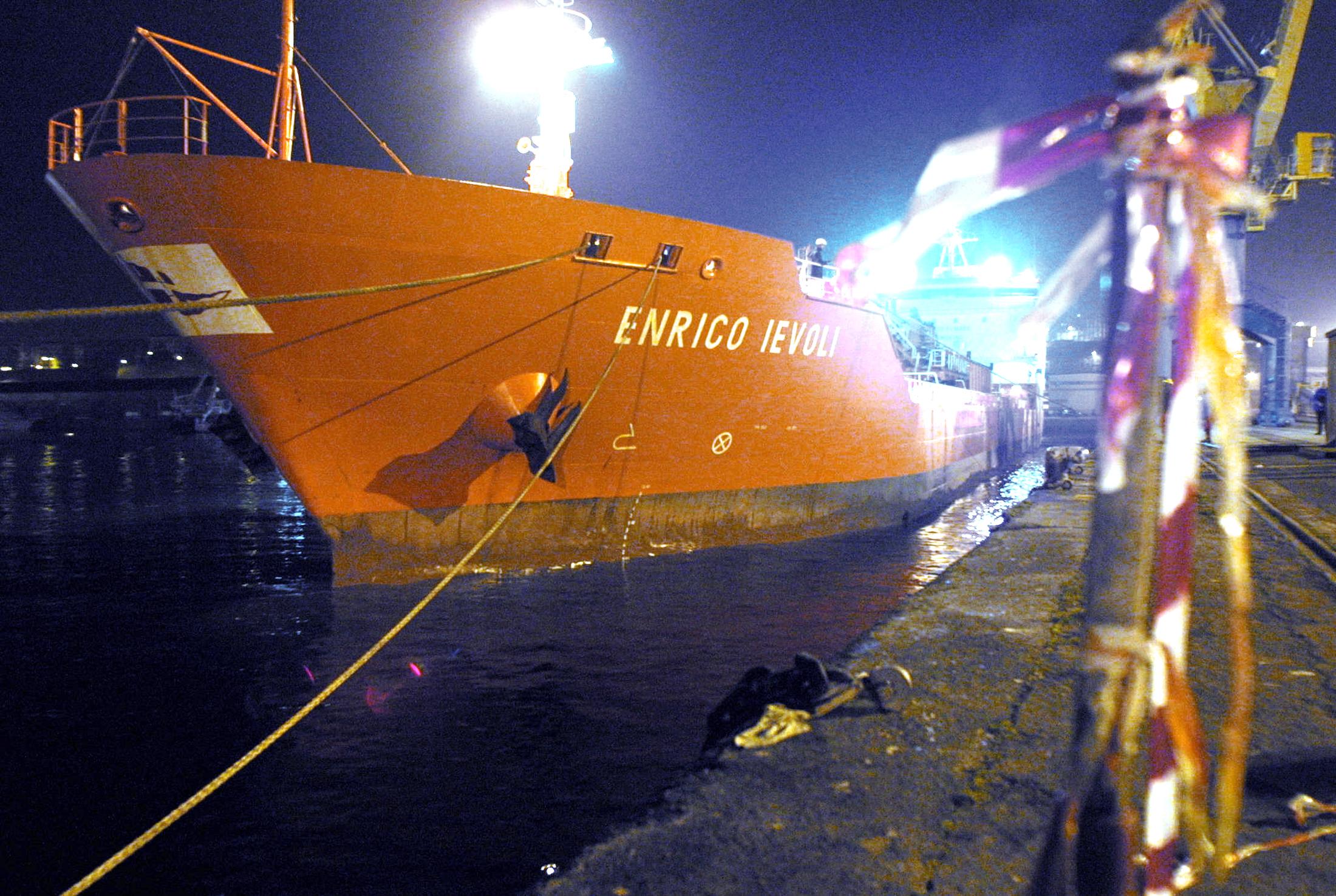 Итальянский танкер Enrico Ievoli