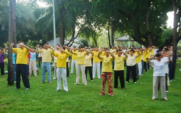Таиланд. Мероприятия, приуроченные к Всемирному Дню Фалунь Дафа. Фото с minghui.org