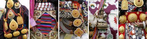 Святковий і повсякденний національний одяг тибетців. Фото: LIU JIN/AFP/Getty Images