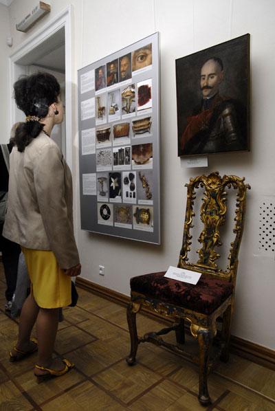 Виставка відреставрованих історичних цінностей відкрилася в Києві 28 травня 2008 року. Фото: The Epoch Times