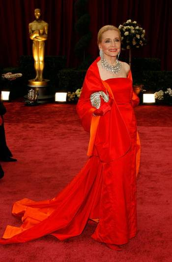 Акторка Енн Джефрі (Anne Jeffreys) відвідала церемонію вручення Премії 'Оскар' в Голівуді Фото: Vince Bucci/Getty Images