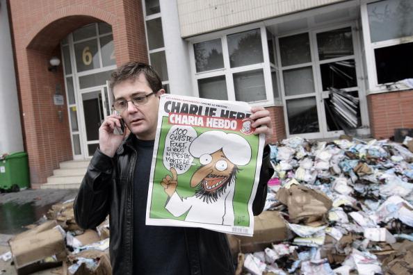 Редакція французького журналу «Charlie Hebdo»