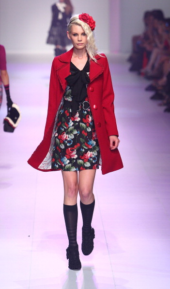 Алана Хілл (Alannah Hill) на щорічному фестивалі моди L'Oreal 2011 в Мельбурні останній день. Фото: Marianna Massey / Getty Images
