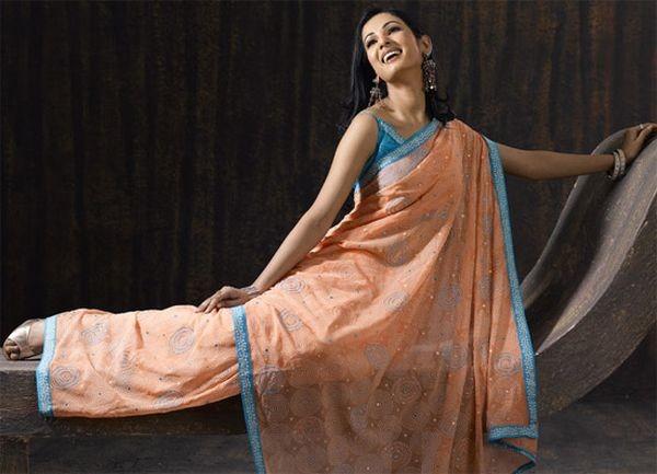 Сарі - символ елегантності, що пройшов через віки. фото з aboluowang.com