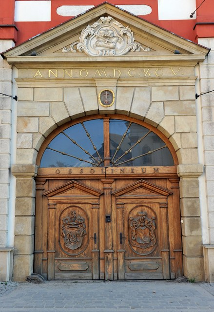 Вход в Национальную библиотеку имени Оссолинских, или «Оссолинеум». Фото: Claudio Villa/Getty Images