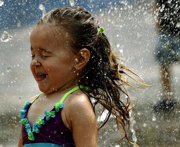 На східне узбережжя США прийшла сильна спека. Фото: TIMOTHY A. CLARY/AFP/Getty Images