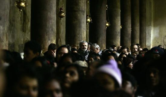 Празднование по всему миру Рождества Христова 25 декабря 2008 года. Фото: Getty Images