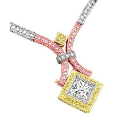 Унікальні прикраси з рожевих діамантів. Фото з epochtimes.com
