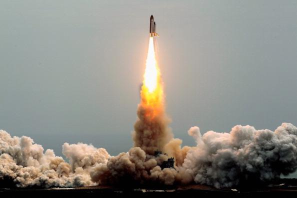 Старт шаттла «Атлантис». Фото: Chip Somodevilla/Getty Images