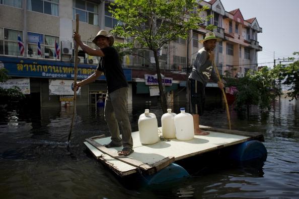 Правительство Тайланда признало, что Бангкок может уйти под воду. Фото: PORNCHAI/Getty Images