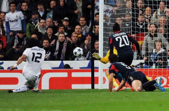 'Реал' - 'Ліон' Фото: Denis Doyle, Jasper Juinen /Getty Images Sport