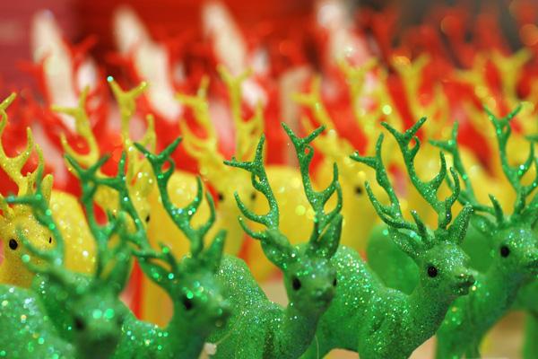 Виставка різдвяних подарунків і прикрас у Лондоні. Фото: Dan Kitwood / Getty Images