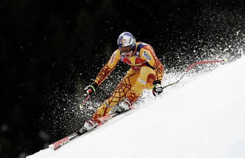 На етапах Кубка світу в Австрії пройшли змагання з швидкісного спуску серед чоловіків. Фото: Vladimir Rys/Bongarts/Getty Images