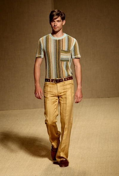 Чоловіча колекція Missoni-2009. Фото: Getty Images