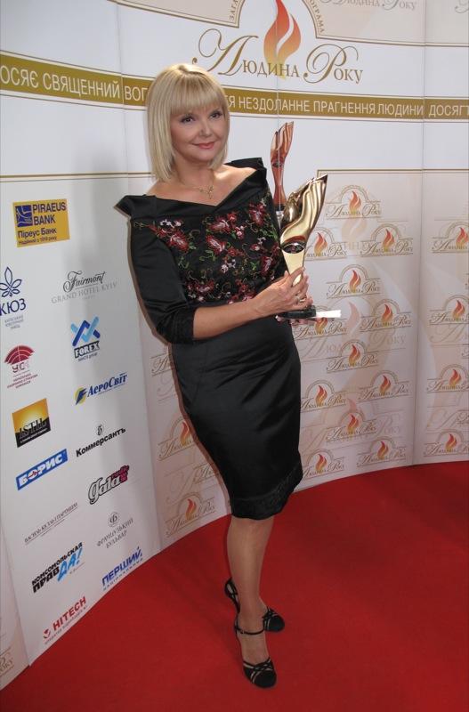 «Журналист года в отрасли электронных СМИ» стала Леонтьева Светлана — телеканал «Первый Национальный». Фото: Оксана Позднякова/The Epoch Times Украина