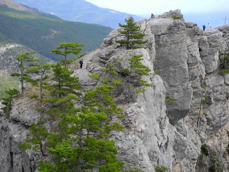 Гора Ставри-Кая и вид на Ялту. Фото: Алла Лавриненко/EpochTimes.com.ua