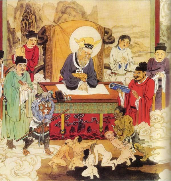 Царь Бяньчен управляет 6-м уровнем Ада. Муки в этом Аду ещё сильнее, чем в предыдущих.