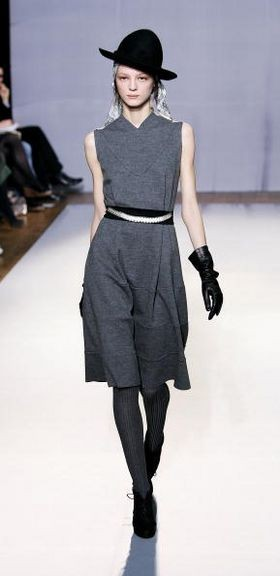 Лондон: колекції жіночого одягу осінь-зима 2008/2009 від Nicole Farhi Фото: Getty Images