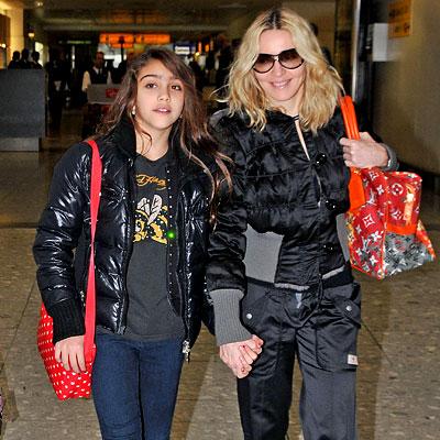 Мадонна и Лурдес Леон. Фото с glianec.com.ua