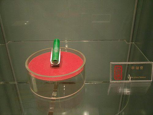 Яшмовая трубочка для пера на шапке. Фото с secretchina.com