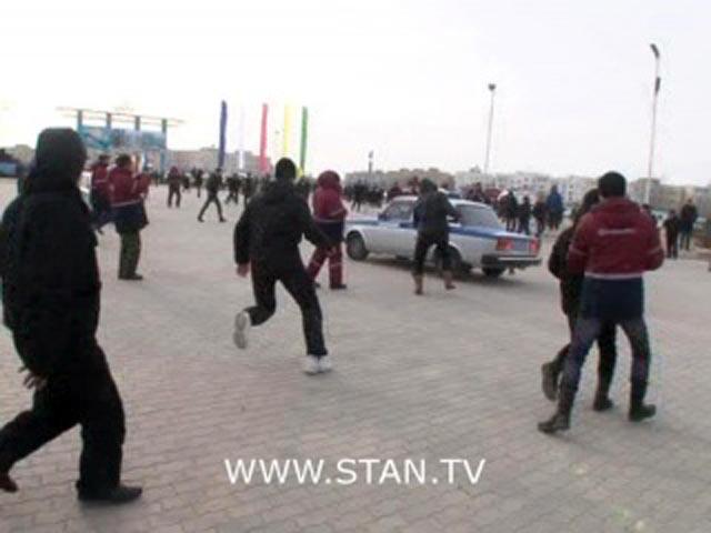 На западе Казахстана вспыхнули массовые беспорядки. Фото: stan.tv