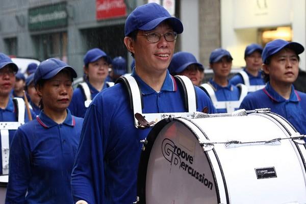 Шествие «Небесного оркестра». Торонто. Канада. 16 мая. Фото: Сунь Дайли/The Epoch Times