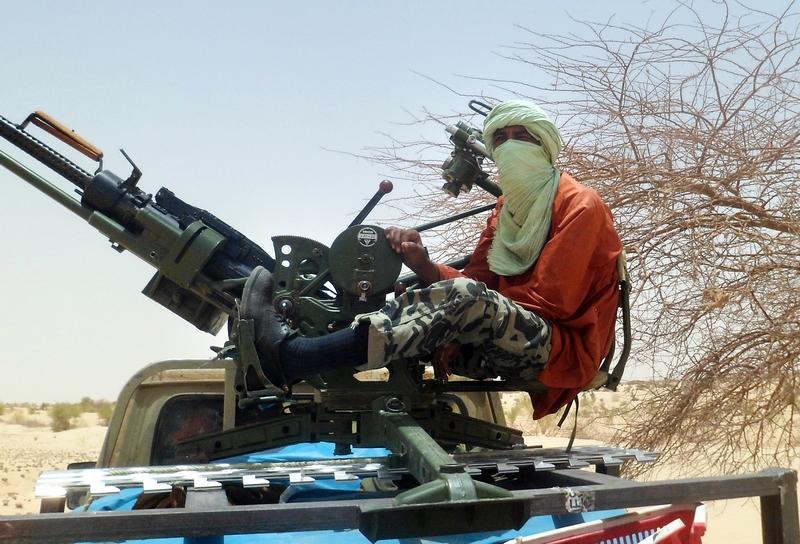 Исламистский повстанец, 24 апреля 2012 г., около Тимбукту. Фото: ROMARIC OLLO HIEN/AFP/GettyImages