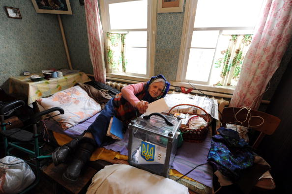 Президентські вибори в Україні. 7 лютого 2010р. Фото: AFP / Getty Images