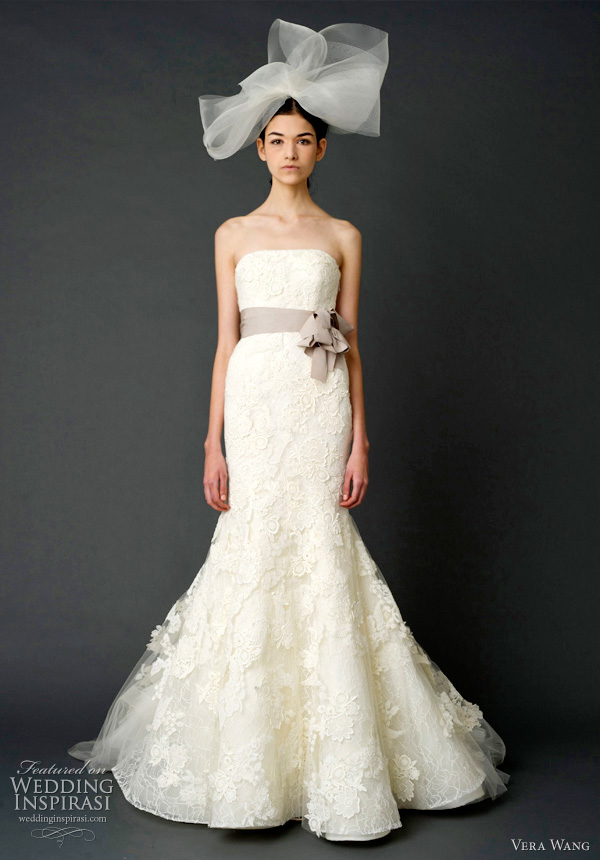Весільні сукні від 'Vera Wang'. Фото: weddinginspirasi.com