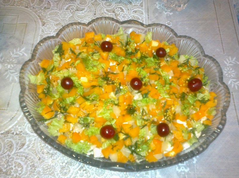 Рецепт салат «Солнечное сияние»