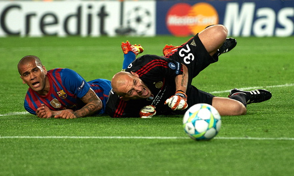«Барселона» – «Милан» Фото: Manuel Queimadelos, Jasper Juinen /Getty Images Sport