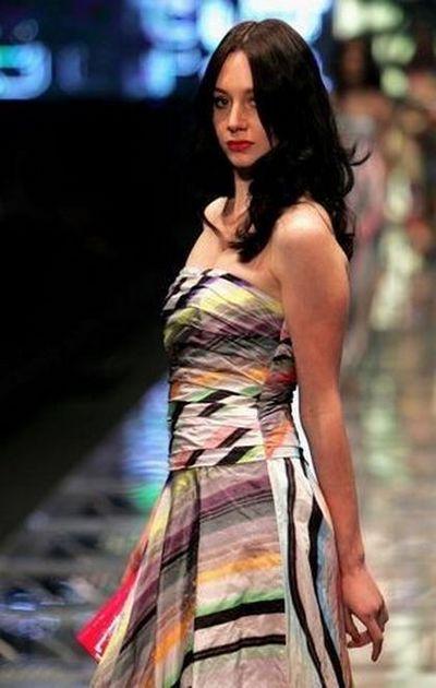 Показ женской летней коллекции 2008 David Jones. Фото: Getty Images