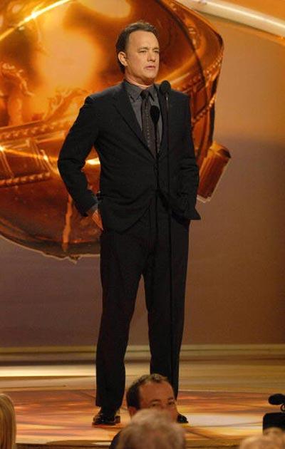 Том Хенкс (Tom Hanks) на 64-й церемонії вручення премії 'Золотий глобус'. Фото: Bob Long/HFPA via Getty Images