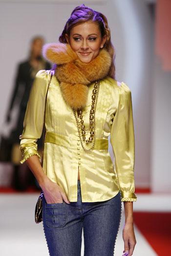 Колекції одягу зима-, весна- й літо-2008 на міжнародній виставці одягу INTERSELECTION у Парижі. Фото: Interselection Groupe Eurovet
