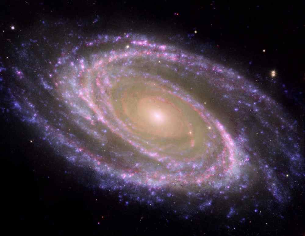Галактика М81. (NASA)