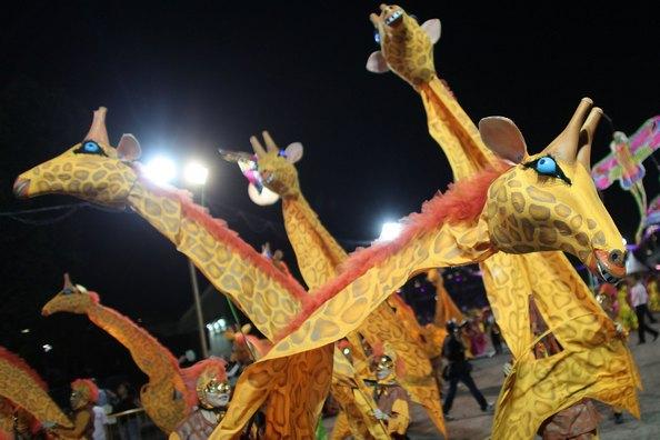 Грандіозний парад Чингей (Chingay parade) пройшов 11-го лютого у Сінгапурі.Фото: JOHAN ORDONEZ/Getty Images