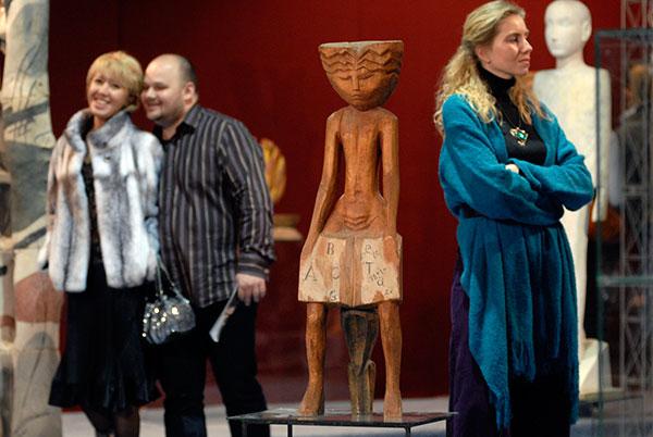 У Києві відкрився Великий скульптурний салон. Фото: Володимир Бородін/The Epoch Times