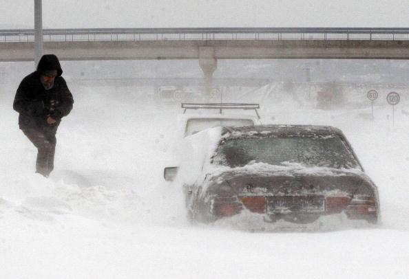 Снегопады в Сербии: 11
