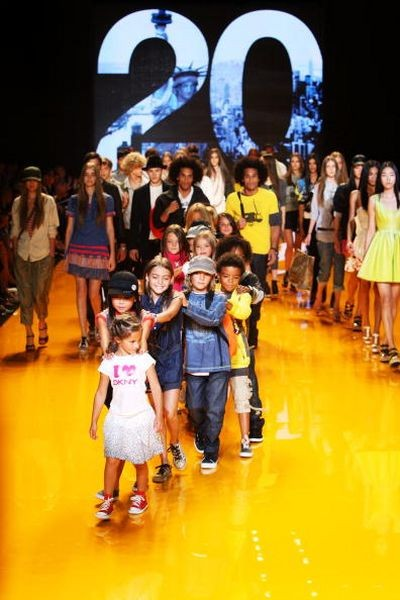 Колекція DKNY. Фото: Frazer Harrison/Getty Images