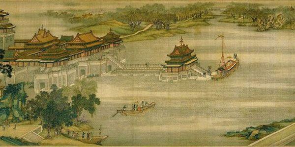 Картина художника Чжан Цзедуаня 'Річкою в день поминання покійних'. Фото: secretchina.com