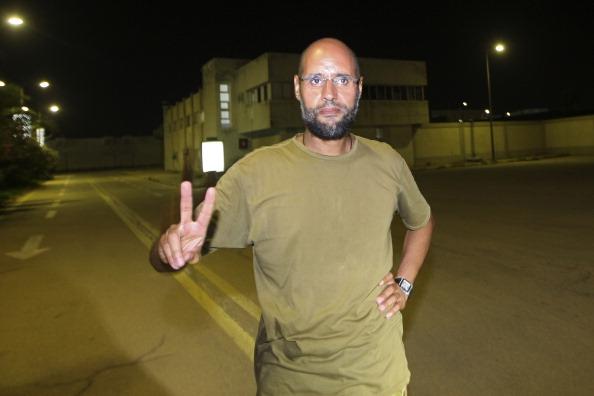 Сын Муаммара Каддафи Сейф аль-Ислам