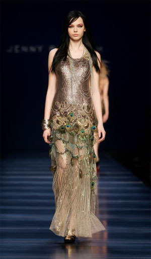 Jenny Packham/осінь-зима 2007. Фото: Pascal Le Segretain/Getty Images