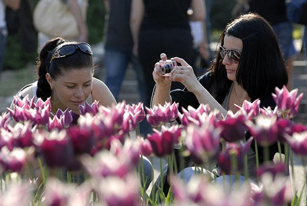 Травневі дні у ботанічному саду. Фото: Володимир Бородин/The Epoch Times