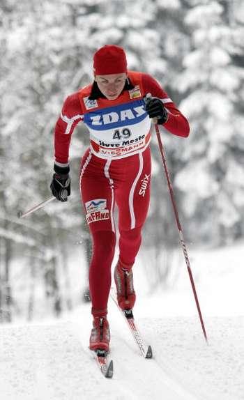 У Нове Мєсто (Чехія) пройшов 5-й етап багатоденного лижного змагання 'Тур де скі' серед жінок, які подолали дистанцію 10 км класичним стилем. Фото: Agence Zoom/Getty Images