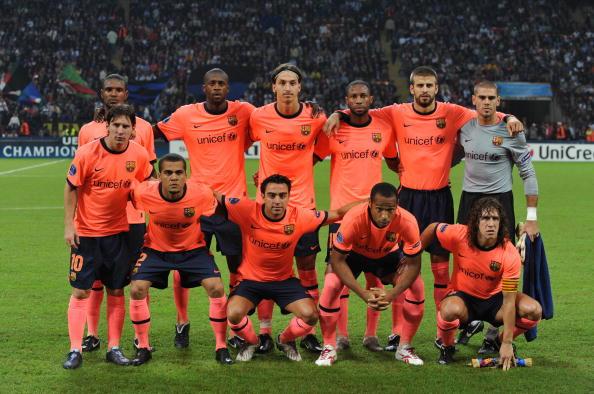 Інтер - Барселона фото:GIUSEPPE CACACE,CHRISTOPHE SIMON /Getty Images Sport