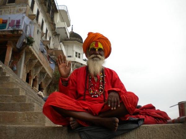 Старець у місті Варанасі. Фото: Наталя ОР'ЄН /Велика Епоха
